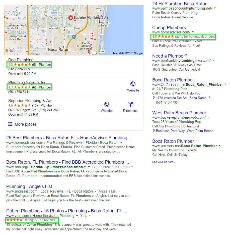 reputation marketing 5 star ratings